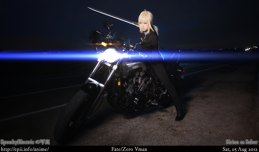 Cosplay  Picture: Fate Zero - Saber 3485