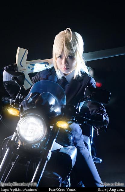 Cosplay  Picture: Fate Zero - Saber 3644