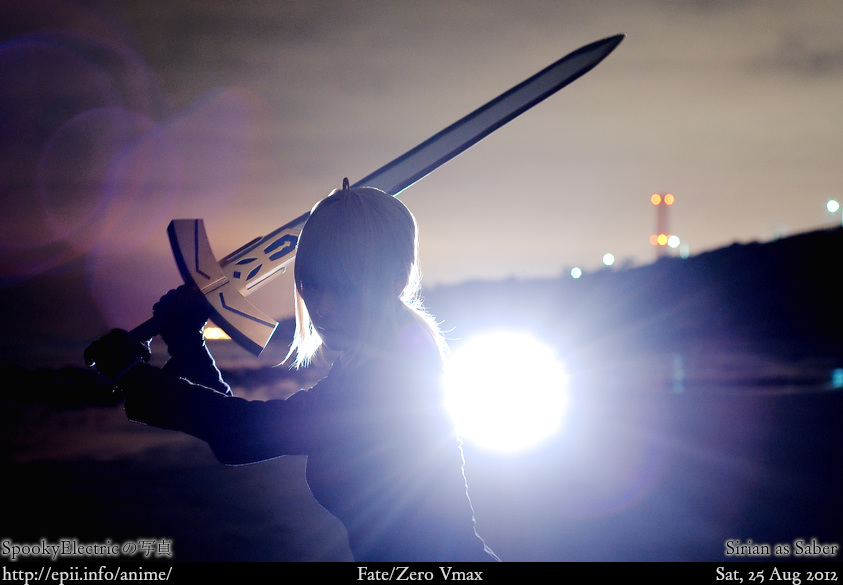 Cosplay  Picture: Fate Zero - Saber 3921