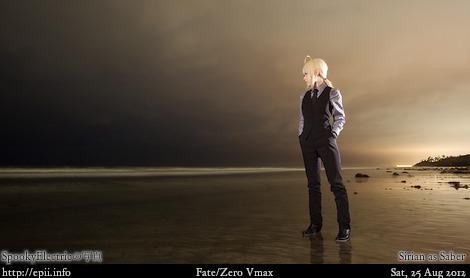 Cosplay  Picture: Fate Zero - Saber 3978