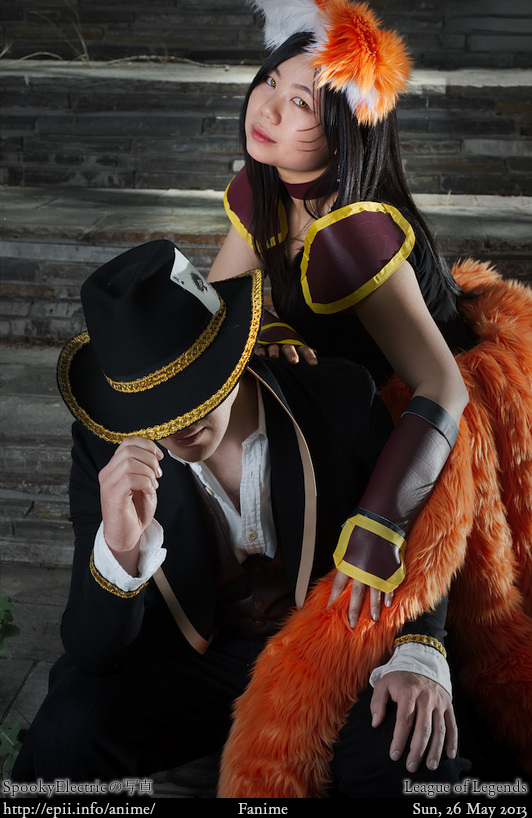 Picture: LoL - Twisted Fate and Ahri 5821