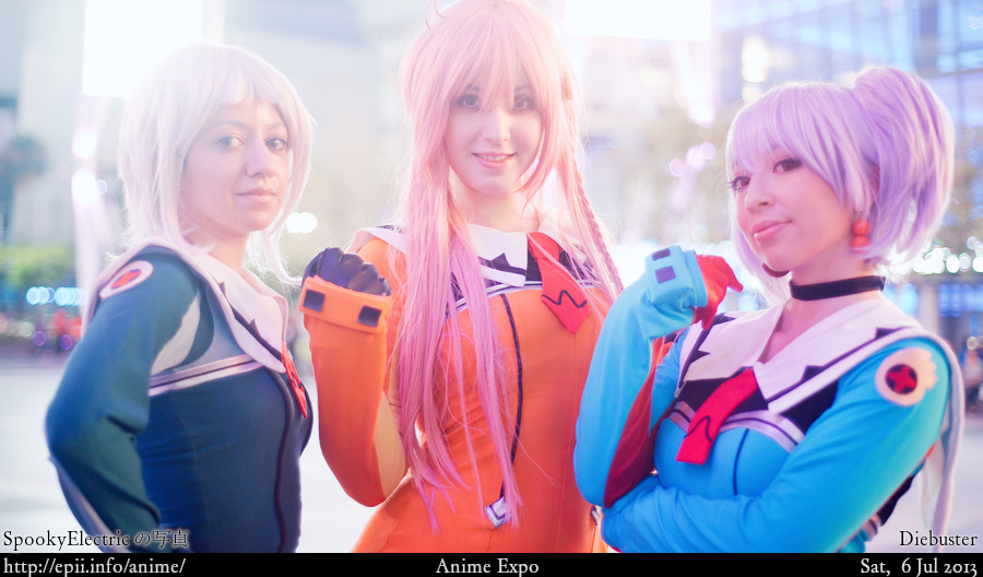 Cosplay  Picture: Diebuster - Lal'C, Nono and Tycho 8124
