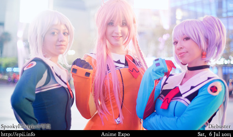 "Cosplay  Picture: Diebuster - Lal""C, Nono and Tycho 8124"