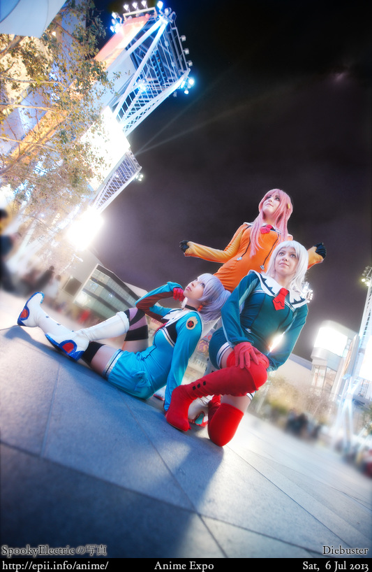 Cosplay  Picture: Diebuster - Tycho, Nono and Lal'C 8152
