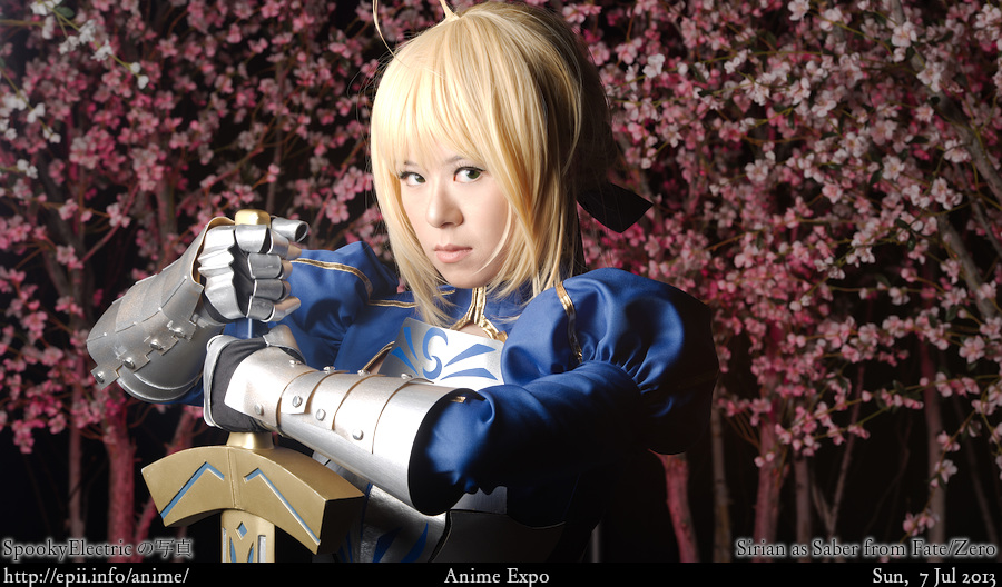 Cosplay  Picture: Fate Zero - Saber 8711