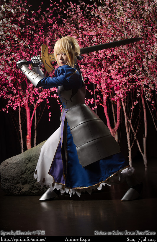 Cosplay  Picture: Fate/Zero - Saber 8729