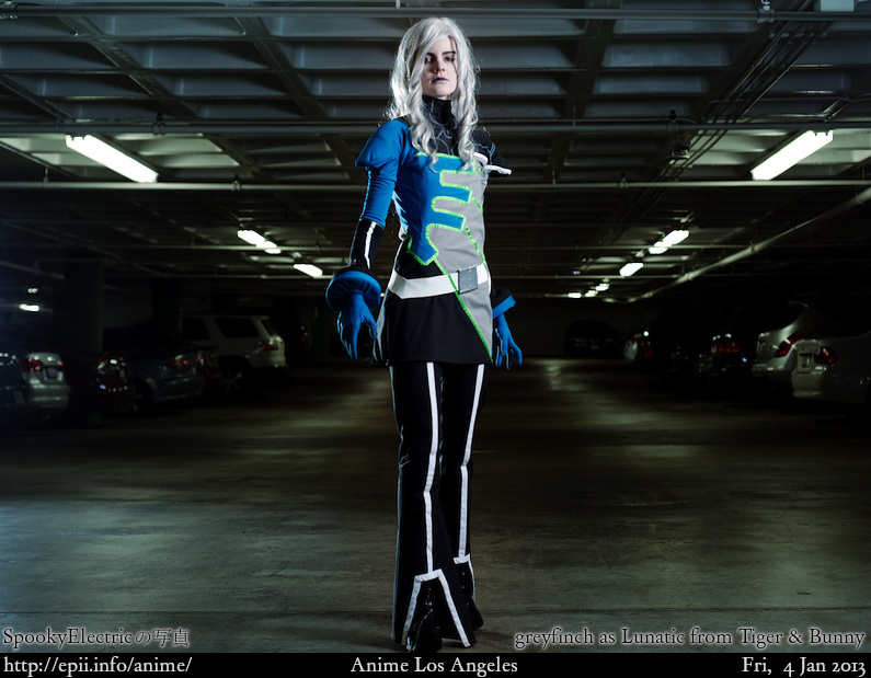 Cosplay  Picture: Tiger and Bunny - Lunatic 7143