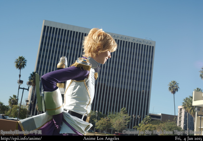 Cosplay  Picture: Tiger and Bunny - Sky High 7075