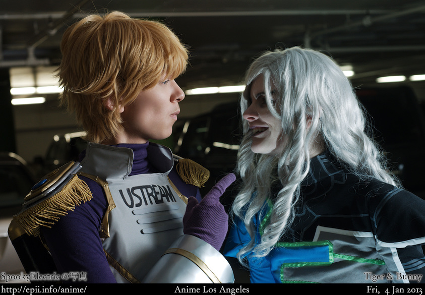 Cosplay  Picture: Tiger and Bunny - Sky High and Lunatic 7162