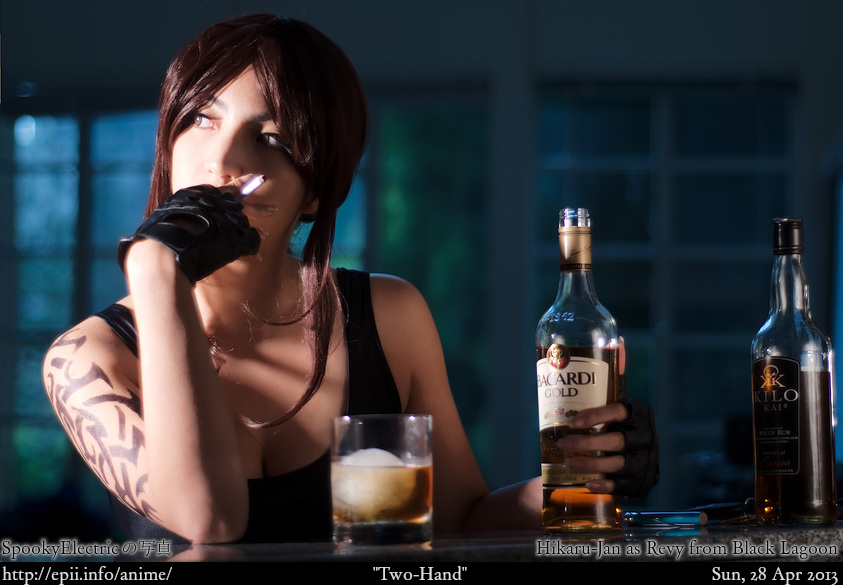 Cosplay  Picture: Black Lagoon - Revy 4891