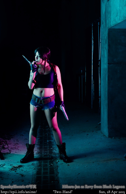 Cosplay  Picture: Black Lagoon - Revy 5111