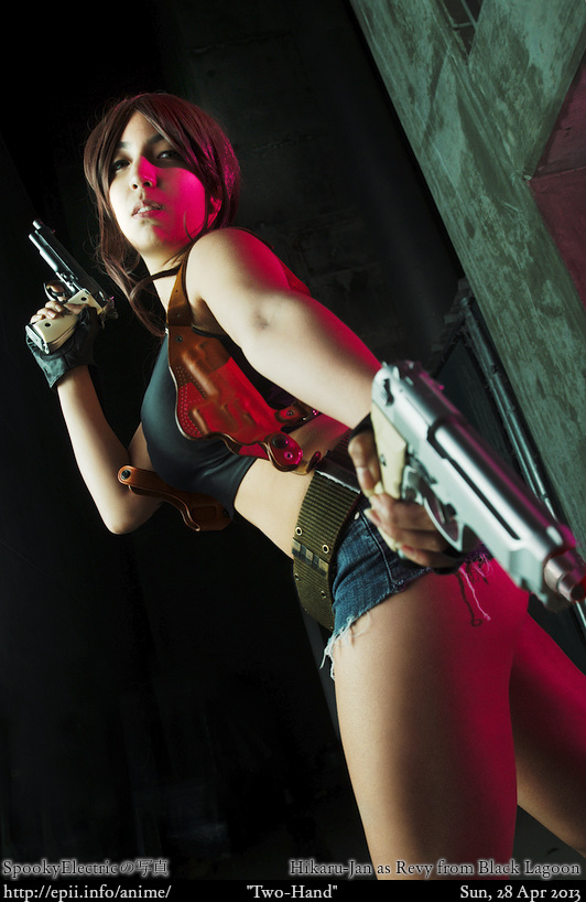 Cosplay  Picture: Black Lagoon - Revy 5120