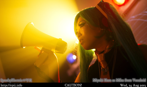 Cosplay  Picture: Vocaloid - Miku 9782