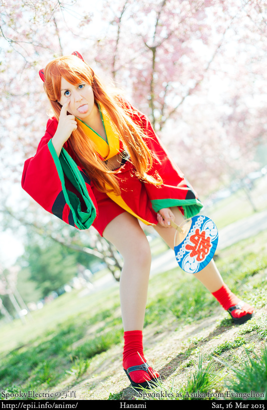 Cosplay  Picture: Evangelion - Asuka 1427