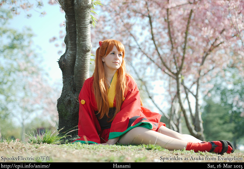 Cosplay  Picture: Evangelion - Asuka 1449
