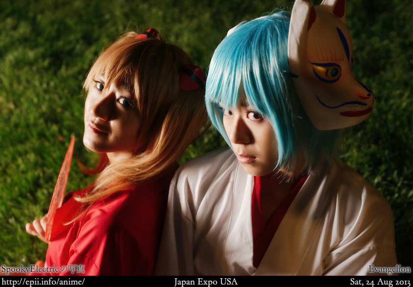 Cosplay  Picture: Evangelion - Asuka and Rei 0778