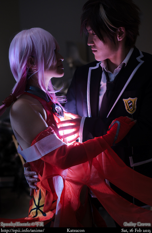Cosplay  Picture: Guilty Crown - Inori and Shu 9520