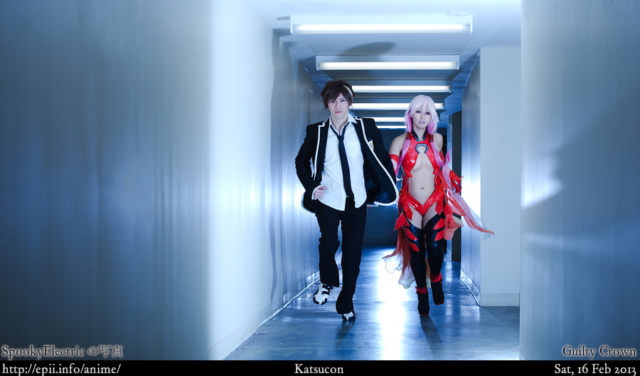 Cosplay  Picture: Guilty Crown - Shu and Inori 9401