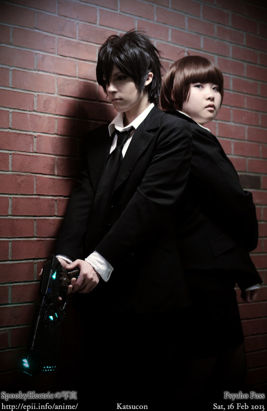Cosplay  Picture: Psycho Pass - Kogami and Akane 8897
