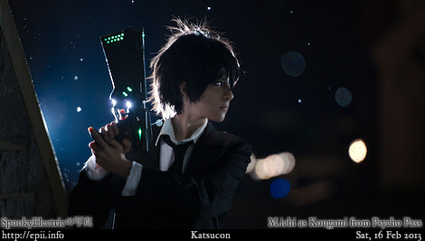 Cosplay  Picture: Psycho Pass - Kougami 8925