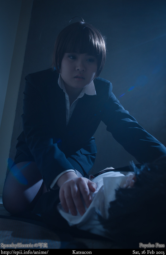 Cosplay  Picture: Psycho Pass - Kougami and Akane 9180