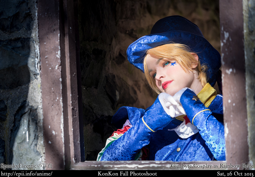 Cosplay  Picture: Gigabyte Cosplay as Rainbow Brite