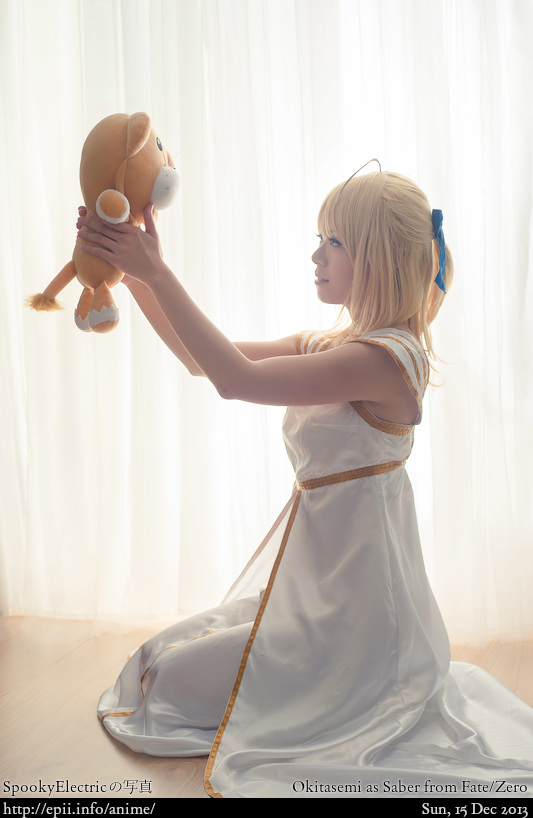Cosplay  Picture: Fate Zero - Saber 4774