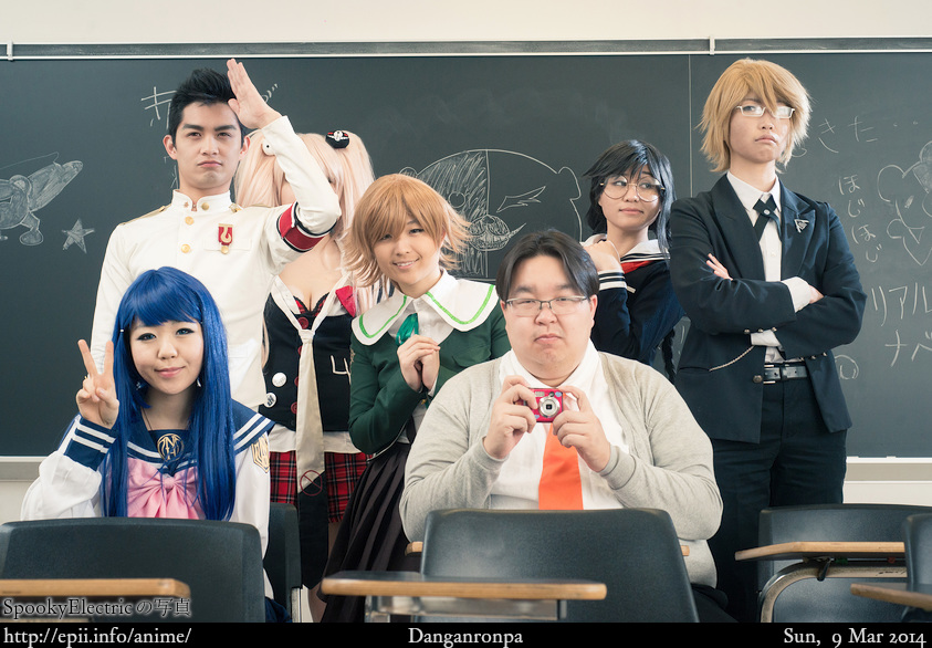 Cosplay  Picture: Danganronpa - Group 8922