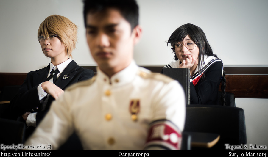 Cosplay  Picture: Danganronpa - Togami and Fukawa 8659