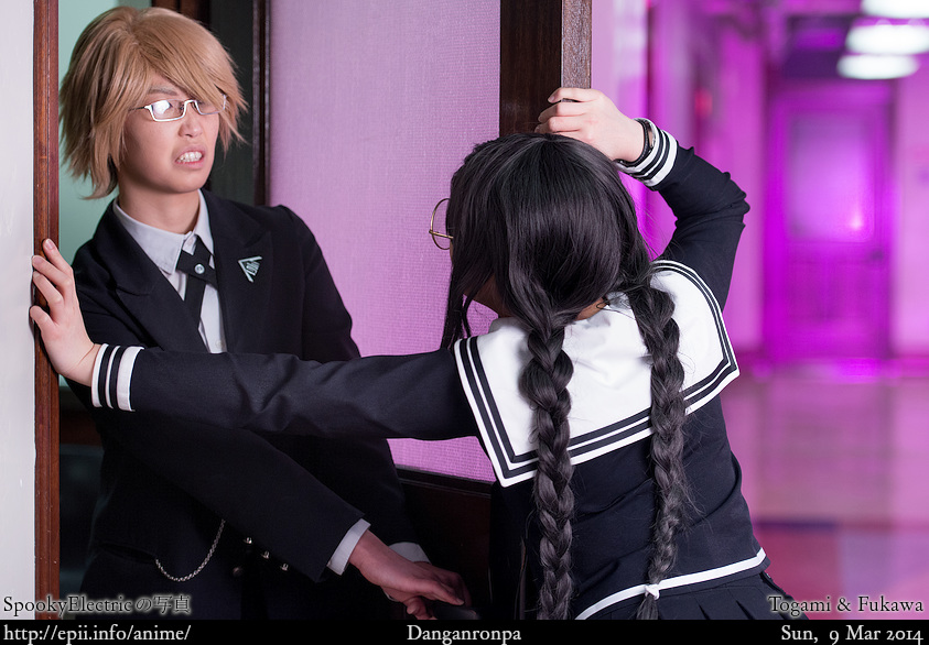 Cosplay  Picture: Danganronpa - Togami vs Fukawa 9071