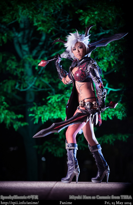 Cosplay  Picture: TERA - Castanic (Warrior) 2477