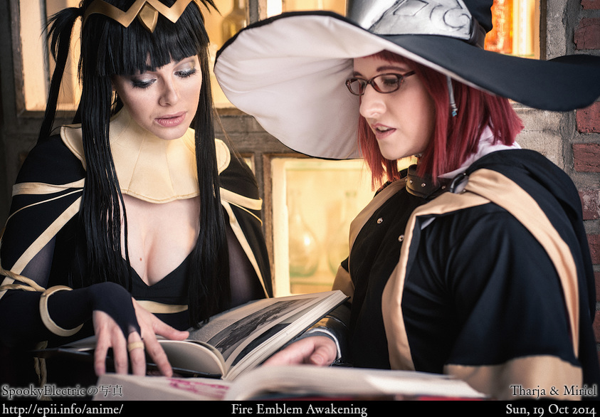 Cosplay  Picture: Fire Emblem Awakening - Tharja and Miriel 7620