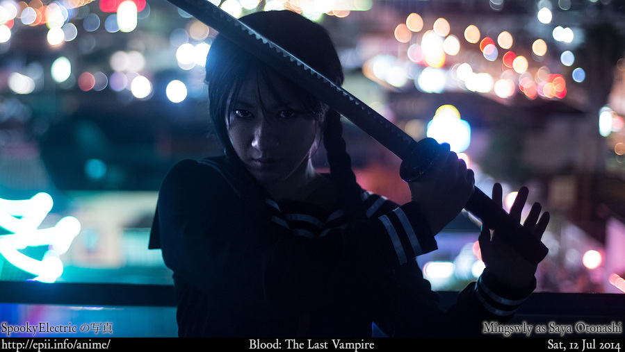 Cosplay  Picture: Blood - Saya 5443