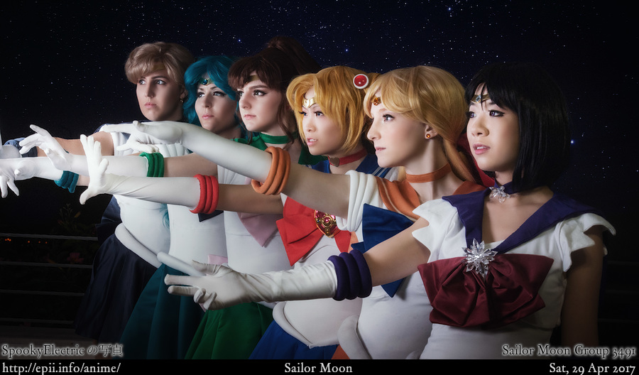 Picture: Sailor Moon Group 3491