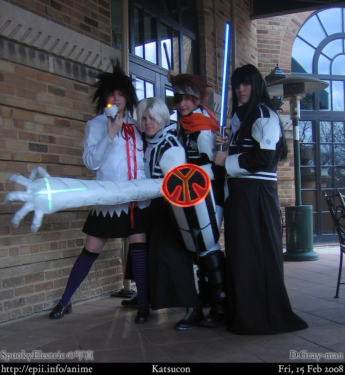 Gray-man - Rhode, Allen, Lavi, and Kanda - eπi.info