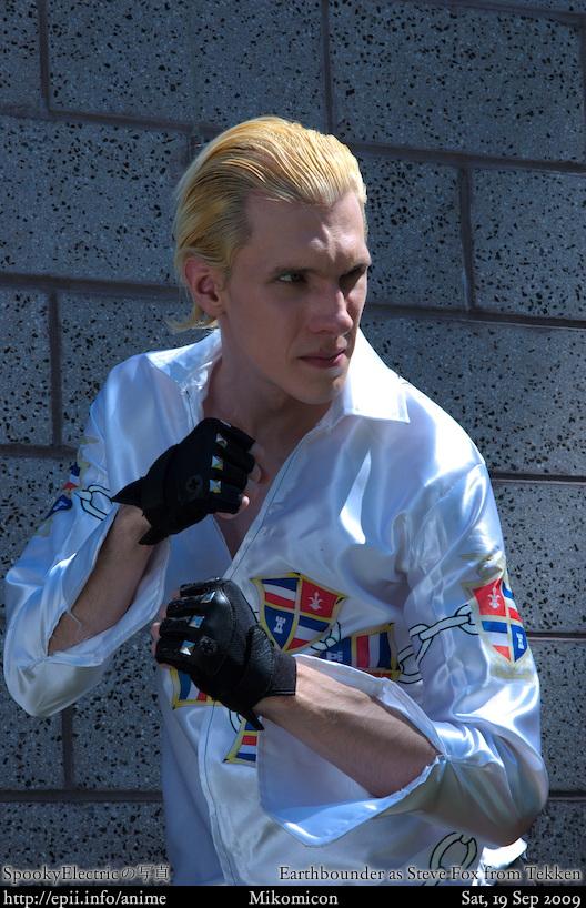 Tekken Steve Fox 2 E I Info